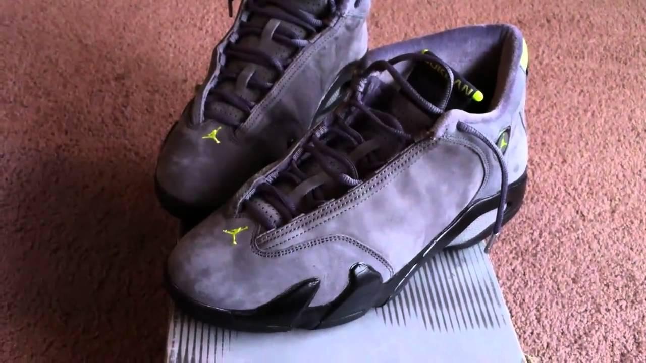 e0f75894f912 Nike Air Jordan 14 Retro Graphite - YouTube