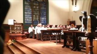 Evensong Service at Trinity Episcopal Church, November 3, 2013