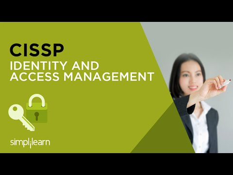 Identity And Access Management | CISSP Training Videos