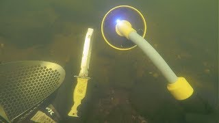 metal detecing underwater