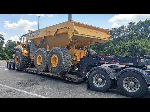 Heavy Haul TV: Episode #550 -- 75,500 LB Volvo A40G