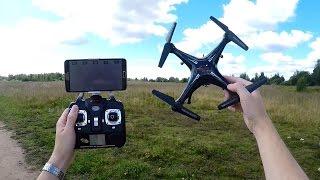 видео Обзор и характеристики квадрокоптера Syma X5C с hd камерой