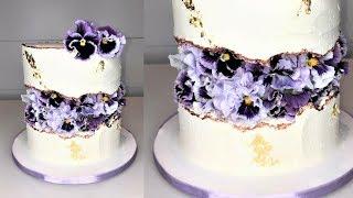 Cake decorating tutorials | FAULT LINE CAKE | Sugarella Sweets