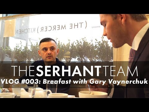 RYAN SERHANT VLOG 003  BREAKFAST WITH GARYVEE