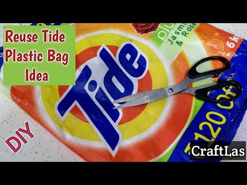Reuse plastic bag idea for making useful things best out for Useful best out of waste