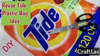 Reuse Plastic Bag Idea For Making Useful Things | Best Out Of Waste | CraftLas