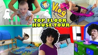 house tour 1 0 the top floor w lexi shawn chase mom dad rooms funnel vision vlog