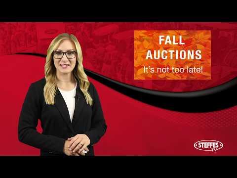 Steffes Auction Update: October, 2019