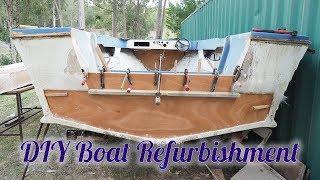 Run-about Boat Refurbishment - Project Boat - Boat Rebuild