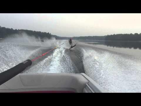 Dan Reeves Mousam Lake water skiing