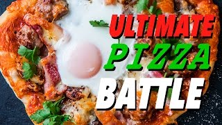 One of SORTEDfood's most viewed videos: THE ULTIMATE PIZZA BATTLE