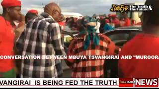 LATEST - Leaked Audio Of Mbuya Tsvangirai Speaking With Elizabeth