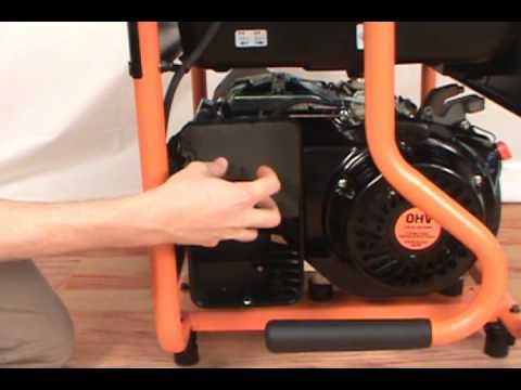 Replacing the Air Filter - Generac Portable Generator - YouTubeYouTube