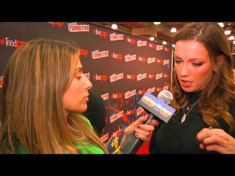 Katie Cassidy New York Comic Con Interview