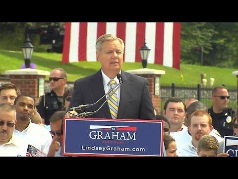 South Carolina Sen. Lindsey Graham announces run for presidency