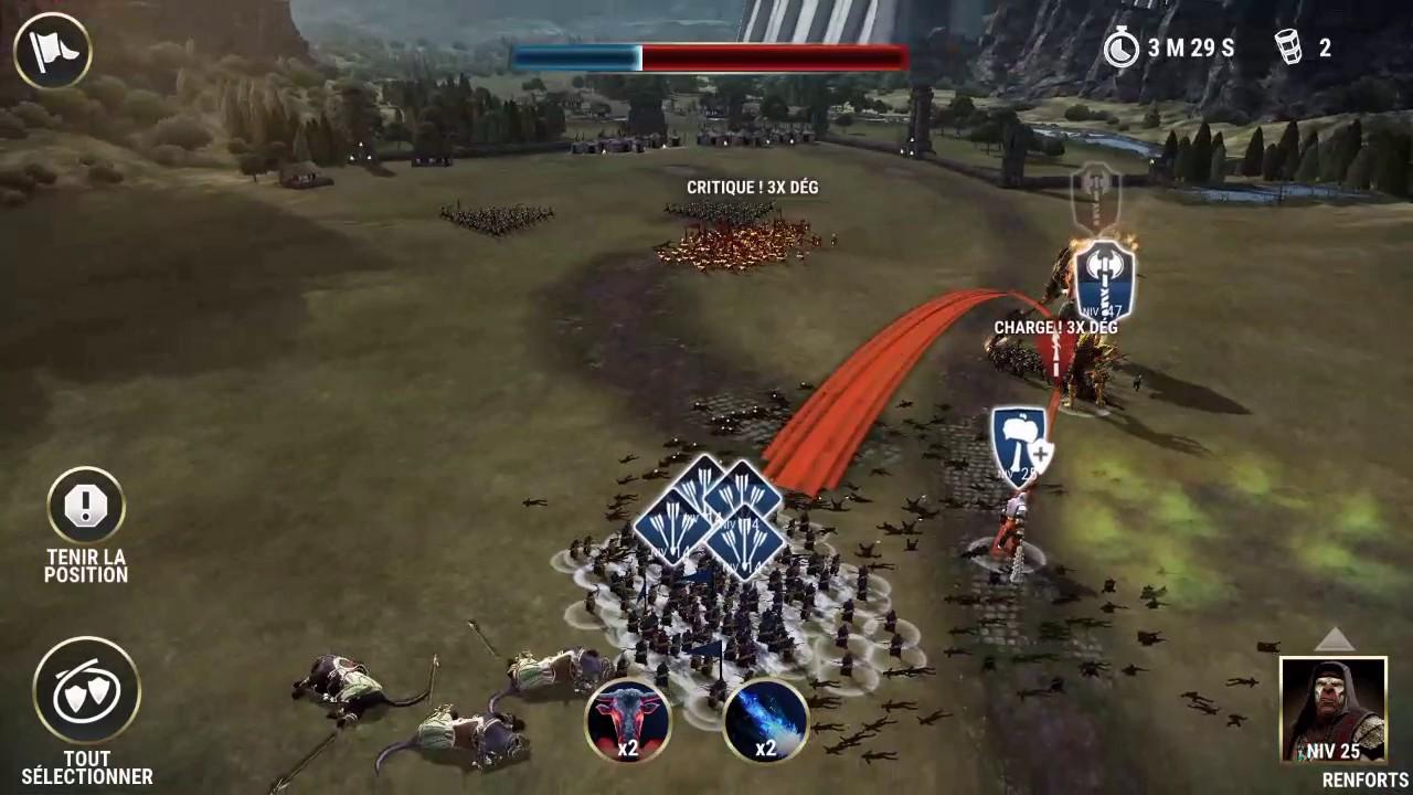 Dawn of Titans - Drakor vs Flamehide BEST ATTACK