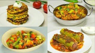 4 вкусных рецепта из кабачков. Рецепт от Всегда Вкусно!