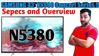 Samsung 43 Inch N5380 Smart FHD TV Detail Explanation with Overview I Best Full HD TV under 40000.