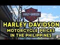 Harley Davidson Motorcycle Prices in the Philippines.
