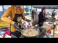 Thai Food, Pad Krapow Meat and the Exploding Fried Egg. London Street Food