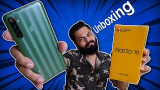 realme Narzo 10 Unboxing And First Impressions ⚡⚡⚡ Helio G80, Big Display, Big Battery & More
