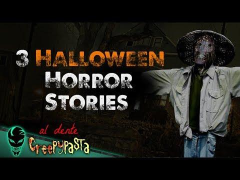 THREE Halloween Horror Stories | Al Dente Creepypasta 01