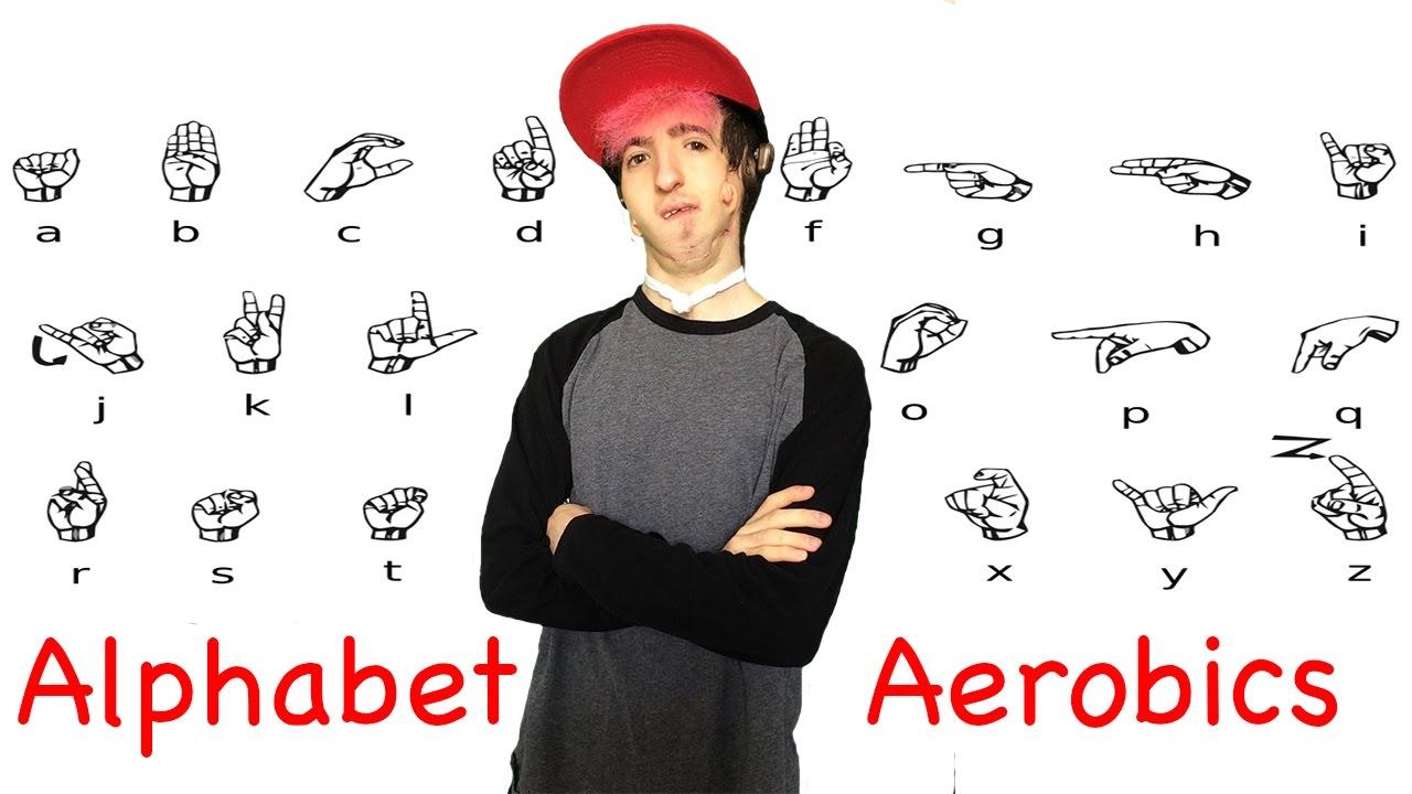 how to learn alphabet aerobics