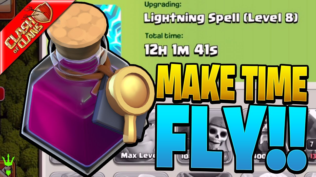MAKE TIME FLY WITH RESEARCH POTIONS!
