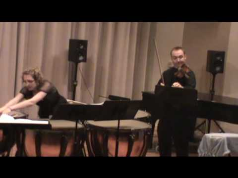 Conversations for Violin and Timpani