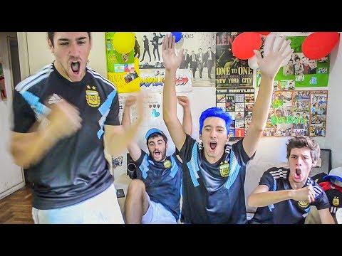 Argentina 2 Italia 0 | Amistoso Internacional 2018 | Reacciones de Amigos