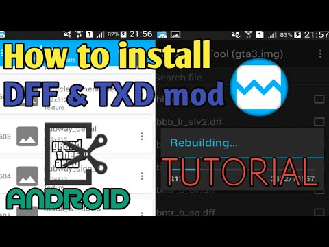 How To Install DFF & TXD Mod In GTA SA Android | Full Explained Tutorial | Android Modding Tutorial