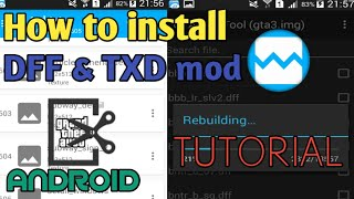 Gambar cover How to Install DFF & TXD mod in GTA SA Android   Full Explained Tutorial   Android Modding Tutorial