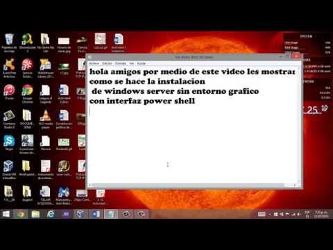 windows server 2012 power shell