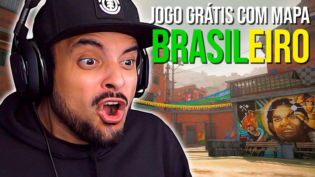 Jogo Online GRÁTIS com MAPA BRASILEIRO