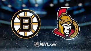 DeBrusk, Rask power Bruins past Senators, 3-2