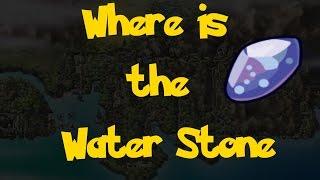 Where Water Stone Pokemon Heart Gold Soul Silver