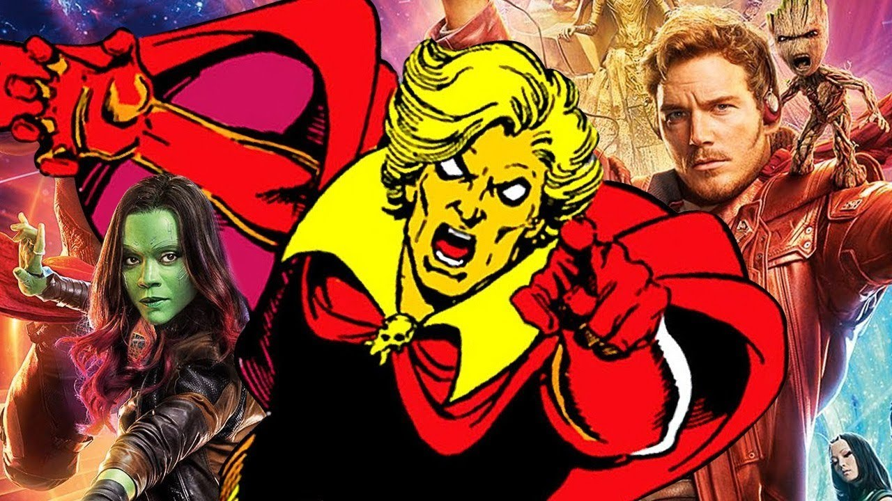 Adam Warlock Guardians Galaxy Cast