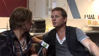 Racoon - Interview (live @ 10 jaar BNN That