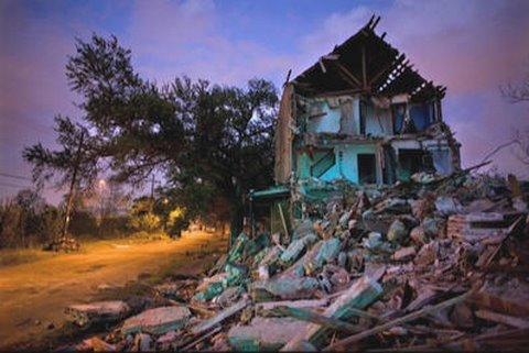 Post Hurricane Katrina Photos of New Orleans at Twilight