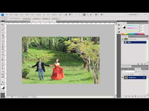 Photoshop CS4 - Phan 1 - Bai 15 - Giao dien moi cua CS4