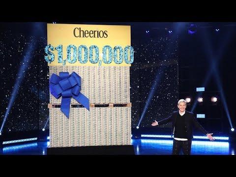 Rose - #Hollywood- Ellen DeGeneres Gave Her Audience of Good Samaritans $1M