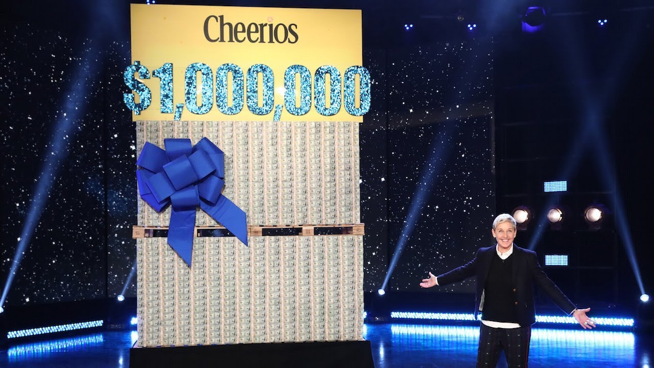 Ellen And Cheerios Celebrate One Million Acts Of Good With