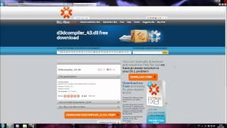 D3Dcompiler.dll fix - Metro 2033 D3D startup error fix