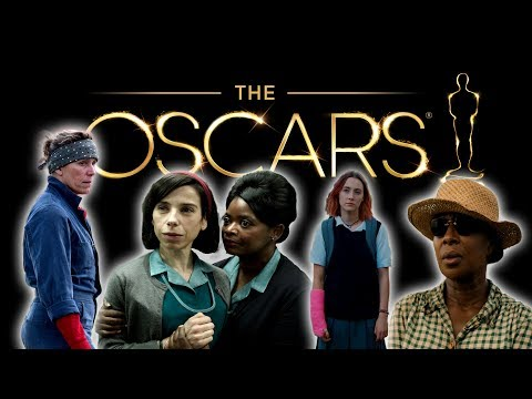 Oscar Race 2018 - Best Actress, Best Supporting Actress & Best Visuals - Who Will Win?