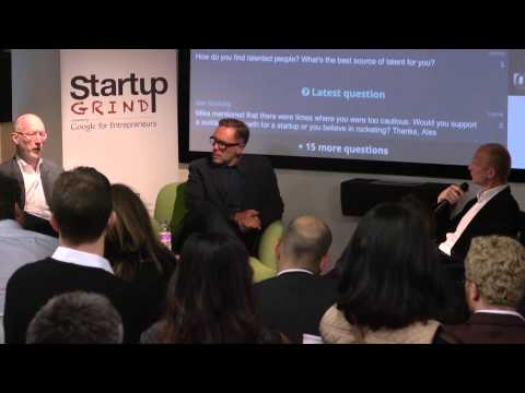 Mike McGee (Framestore) at Startup Grind London