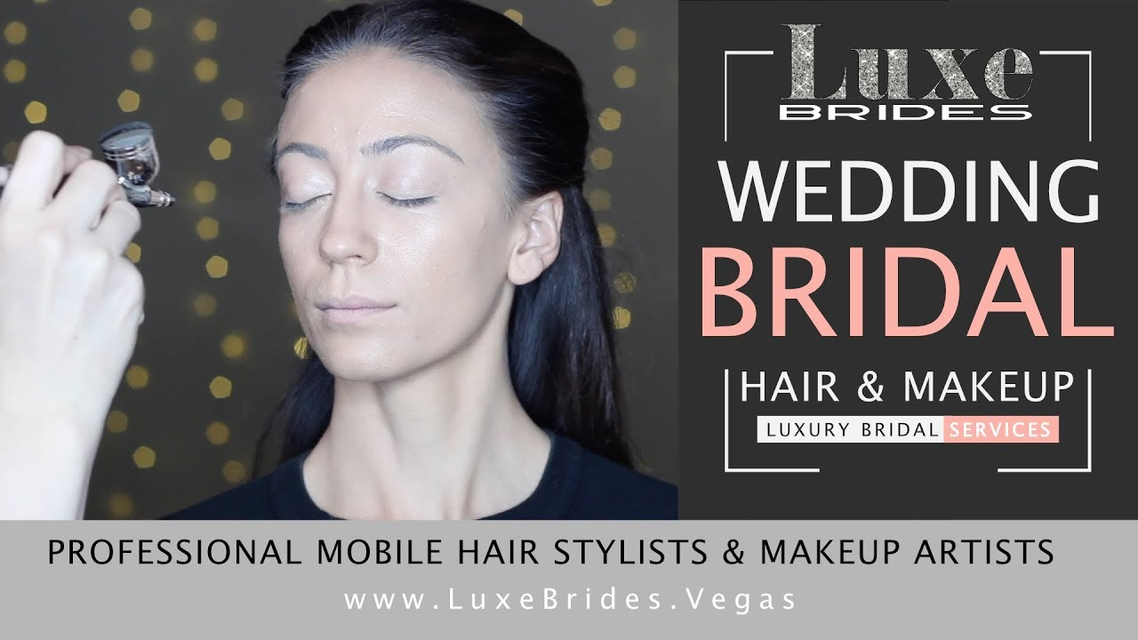 Mobile Airbrush Makeup Artist Services Wedding Bridal Las Vegas Destination