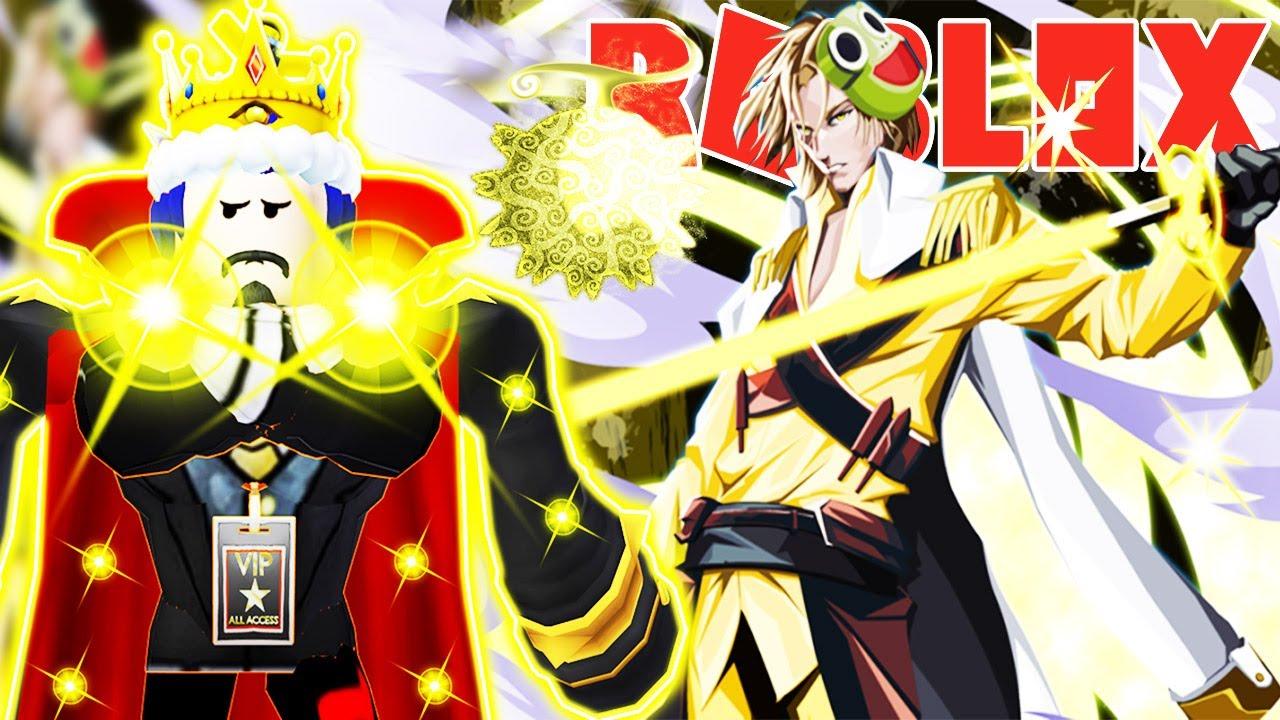 Roblox - LẤY ĐƯỢC SỨC MẠNH PIKA SENKO TRÁI ÁC QUỶ ÁNH SÁNG CỰC KHỦNG TRONG GAME NARUTO - Shindo Life