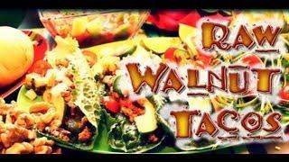 Raw Food Recipe: Walnut Tacos!