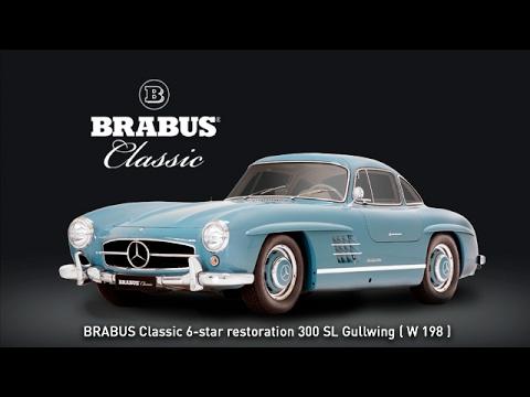 BRABUS Classic 6-star restoration 300 SL Gullwing ( W 198 )