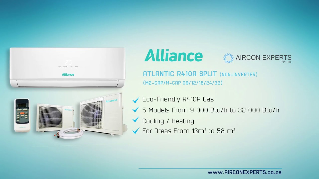 Alliance Atlantic Mid Wall Split Air Conditioning Unit